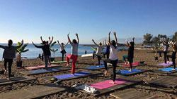 Beach Yoga Antalya