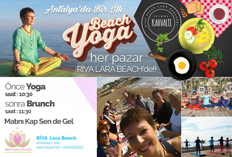 Beach Yoga - Kumsalda Yoga
