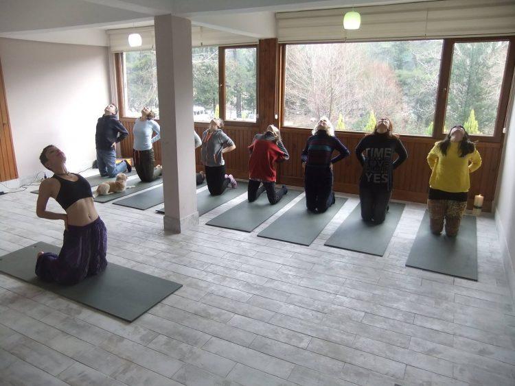 İnci Yoga Köprülü kanyon yoga kampı
