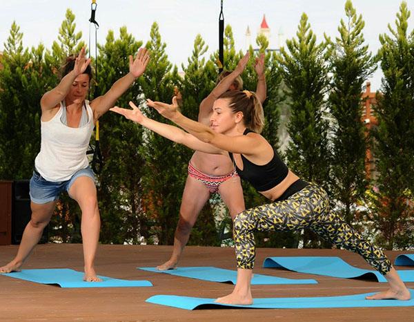 Baia lara hotel yoga