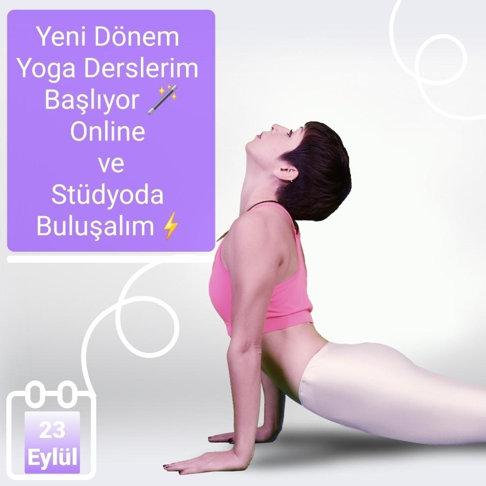 Yeni Dönem Yoga Derslerim